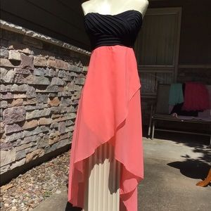Charlotte Russe  size M strapless prom dress